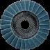 Abraboro 125 x 22 vlies csiszolótányér (kék), finom