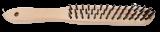 Abraboro Fanyelű kézi kefe, egyenes acéldrót