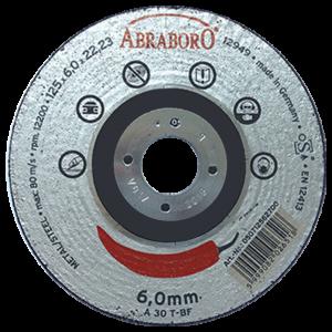 Abraboro 150 x 6,0 x 22 mm CHILI fémtisztító korong, 10db/csomag termék fő termékképe