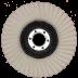 Abraboro 125 x 22 mm filc polírozótányér