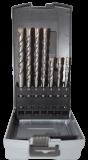 Abraboro 7 részes SDS-plus TWIXX betonfúró készlet, műanyag dobozban