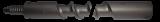 Abraboro 280 mm-es hosszabbító szár, Ø 25 mm