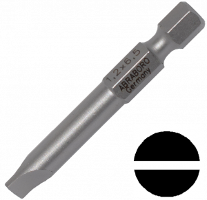 Abraboro 0.6 x 4.5 x 50 mm lapos SUPRA bit, 10db/csomag termék fő termékképe