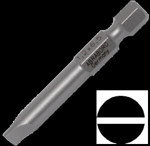 Abraboro 1.2 x 6.5 x 50 mm lapos SUPRA bit, 10db/csomag termék fő termékképe