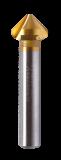Abraboro HSS-TiN kúpos süllyesztő 1,5-6,3 mm
