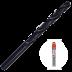 Abraboro 4 x 75 / 43 mm HSS-R fémfúró EV-Pack, 2db/csomag