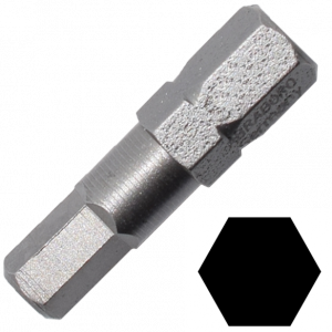 Abraboro 3 x 25 mm hatszög (imbusz) SUPRA bit, 10db/csomag termék fő termékképe