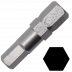 Abraboro 6 x 25 mm hatszög (imbusz) SUPRA bit, 10db/csomag