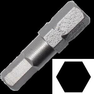 Abraboro 4 x 25 mm hatszög (imbusz) SUPRA bit, 10db/csomag termék fő termékképe