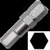 Abraboro 4 x 25 mm hatszög (imbusz) SUPRA bit, 10db/csomag