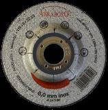 Abraboro 115 x 6.0 x 22 mm CHILI INOX fémtisztító korong, 10db/csomag