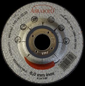 Abraboro 125 x 6.0 x 22 mm CHILI INOX fémtisztító korong, 10db/csomag termék fő termékképe