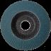 Abraboro 125 x 22 / 40 G-QZ lamellás csiszolótányér, 10db/csomag