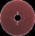Abraboro 125 x 22 KFR fibertárcsa, 120-as szemcseméret, 25db/csomag