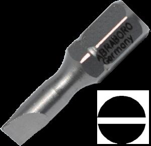 Abraboro 0.6 x 4.5 x 25 mm lapos SUPRA bit, 10db/csomag termék fő termékképe