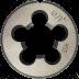 "G 3/8"" x 19 mm HSS-G menetmetsző csőmenethez, DIN EN 24231"