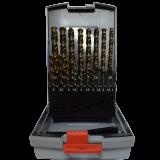 Abraboro MULTISPEED HSS-GS 19 részes fémfúró készlet, műanyag dobozban