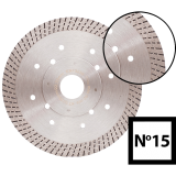 Abraboro 115 x 22.23 mm No.15 gyémánttárcsa