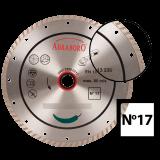 Abraboro 125 x 22.23 mm No.17 turbo gyémánttárcsa