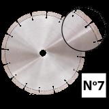 Abraboro 125 x 22.23 mm No.7 univerzális gyémánttárcsa