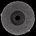 125 x 22 mm polírozótányér, 1 db