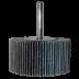 Abraboro 40 x 20 x 6 mm RG cirkon csapos lamellás csiszolókerék, 80-as szemcseméret