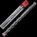 Abraboro 12 x 600 / 550 mm SDS-plus TWIXX betonfúró műanyag tasakban