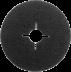 125 x 22 SF fibertárcsa, 80-as szemcseméret, 25 db