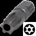 Abraboro TxTR 25 x 25 mm Torx Tamper SUPRA bit, 10db/csomag
