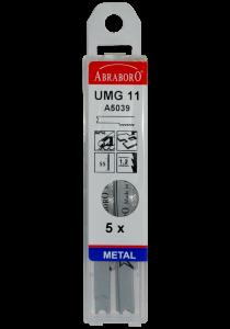 Abraboro UHC 12 szúrófűrészlap B&D befogással, 5db/csomag termék fő termékképe