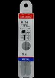Abraboro HC 123 STAR szúrófűrészlap Bosch befogással, 5db/csomag