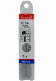 Abraboro HC 32 szúrófűrészlap Bosch befogással, 5db/csomag