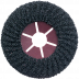 Abraboro 115 x 22 mm ZEC félflexibilis csiszolótárcsa, 80-as szemcseméret, 5db/csomag