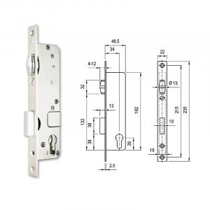 3397 G hengerzárbetétes, görgős portálzár termék fő termékképe