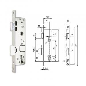 3397 V hengerzárbetétes, csapdás portálzár termék fő termékképe