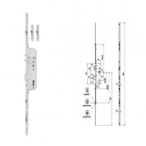 3477 B többpontos görgős bevésőzár, csapos 45/90 mm termék fő termékképe