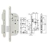 670-M mágnescsapdás normál kulcsos bevésőzár 40/70 mm