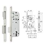 MIDI 7-C M mágnescsapdás hengerzárbetétes bevésőzár 40/90 mm
