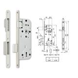 MIDI 7-N M mágnescsapdás normál kulcsos bevésőzár 40/90 mm