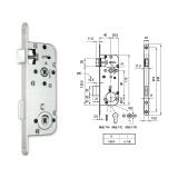 MIDI 7-W fordítógombos bevésőzár 40/90 mm
