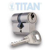 TITAN K1 fúrásvédett zárbetét, 30/30 mm