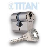 TITAN K1 fúrásvédett zárbetét, 40/65 mm