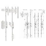 TOP Multisoft többpontos görgős bevésőzár 30/92/16 mm
