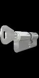 TITAN XT hengerzárbetét 45/55 mm,fényes nikkel bevonattal
