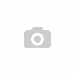 ES-S-125 K forgóvillás hátfuratos fém tárcsás görgő gumi futófelülettel, Ø125 mm termék fő termékképe