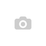 55-46/2-050 totálfékes duplakerekes forgóvillás talpas készülékgörgő, fekete műanyag, Ø50 mm