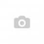 PE L 4/200/50K-FSTF WICKE TOPTHANE® alumínium tárcsás poliuretán forgóvillás talpas görgő, totálfékes, barna, Ø200 mm