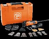 Fein MultiMaster MM 500 Plus Top oszcilláló szerszám szett építkezési és felújítási munkákhoz