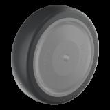 Wicke EP 75/30/2K-FA WICKE EP készülékkerék, porvédős, Ø75 mm
