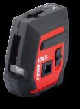 IOX5 BASIC vonal- és pontlézer